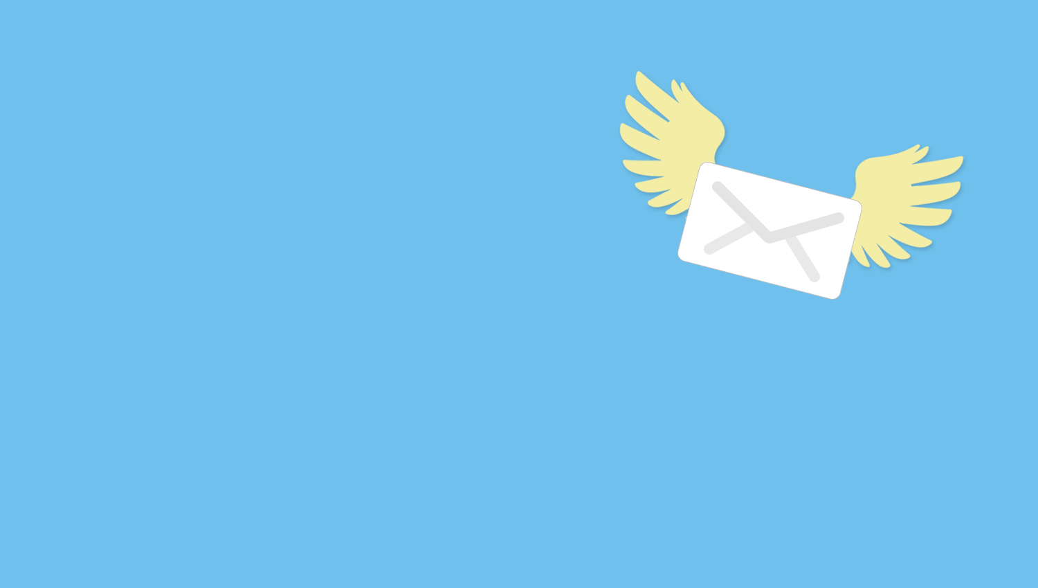 Flying Email