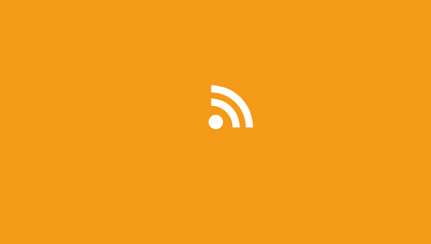 Clean RSS icon